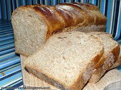 GRUNT TO PRZEPIS!: Chleb pszenno-żytni z maślanką Healthy Bread Recipes, Food And Drink, Baking, Recipes, Bakken, Backen, Sweets, Pastries, Roast
