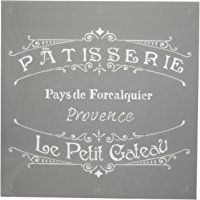 Deco Art Americana Decor Stencil, The French Bakery