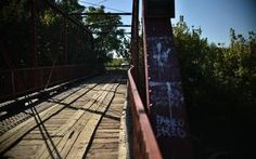 """Old Alton Bridge — which goes by the nickname """"Goatman's Bridge"""" — has long been known in Denton TX area legend as being haunted."""