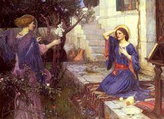 File:John William Waterhouse - The Annunciation.JPG