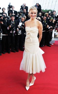 My Favorite Cannes Moments | Cameron Diaz in Louis Vuitton, 2004