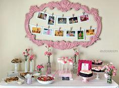 Pink Girly Budget DIY First Birthday, lots of DIYs
