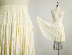 20% Off With Coupon Code 90s Vintage Cream by ShopCherieVintage