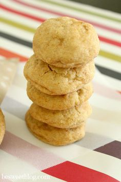 (officially can vouch for these totally addicting cookies!) Pumpkin Snickerdoodles | Be Sweet