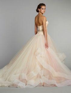 fall 2012 wedding dress Lazaro bridal gowns 3250 b