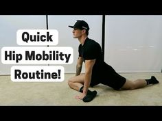 5 Best Hip Mobility Exercises (Less Pain and More Flexibility! Hip Mobility Exercises, Ankle Strengthening Exercises, Ankle Mobility, Flexibility Workout, Hip Stretches, Improve Flexibility, Stretching Exercises, Sore Muscle Relief, Hip Injuries