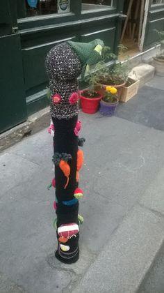 Y a pas que d'la maille !: Yarn bombing