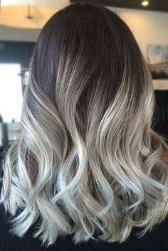 Ash Blonde Ombré