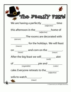 Tactueux image regarding thanksgiving mad libs printable
