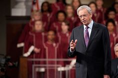 Charles Stanley  Encouraging each one of us to Know God personally.
