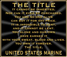 Marine Corps Motivational Poster/Marine Corps Motivational Quote ...