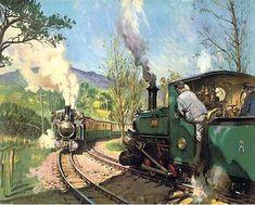 Viático de Vagamundo: Trains by Terence Cuneo