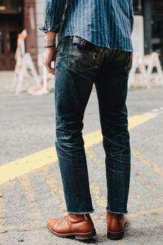 worn denim dark-love this-Justin Chong tumblr
