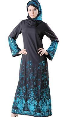 #Kilam - #EastEssence Sareena Abaya Sequin (Set) - AdoreWe.com