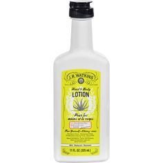"""J.R. Watkins Hand and Body Lotion With Aloe and Green Tea - 11 fl oz - J. R. Watkins Hand and Body Lotion With Aloe and Green Tea Description: Natural ApothecaryNaturally Pure Guilt-Free Paraben-Free Propylene Glycol Free Phthalate Free Dye Free 97.80% NaturalA natural historyFrom a bluff high above the Mississippi River in Winona, Minnesota comes the purity of Watkins. It's wholesome, and it's never """"doctored up"""" like some big city factory products. Watkins has been good and natural through…"""