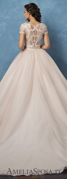 weddingdress Best Wedding Dresses of 2017 - Wedding Dress by Amelia Sposa 2017 - Royal Blue Collection Best Wedding Dresses, Bridal Dresses, Wedding Styles, Wedding Gowns, Bridesmaid Dresses, Wedding Dress Blue, Wedding Ideas, Wedding Pictures, Wedding Details