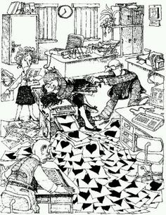 Quino in <3 Illustrations, Illustration Art, Stand Up Comedians, Humor Grafico, Comic Strips, Vignettes, Illusions, Cool Art, Comedy
