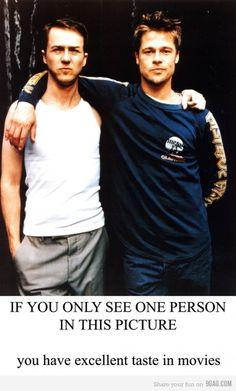 Except then Brad Pitt turned all weird.