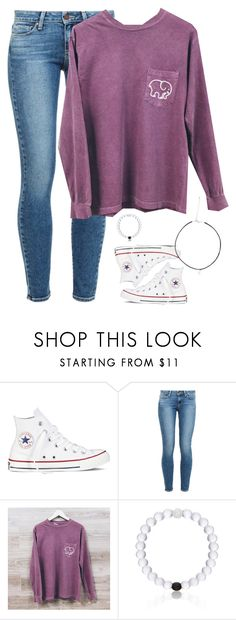 """Want this shirt!!~ how's the new setup?"" by meljordrum ❤ liked on Polyvore featuring Converse, Paige Denim, Everest and meljordrummostviewed"