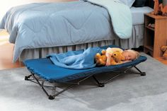 My Cot Portable Toddler Bed. I can foresee many uses for this. And only $22!