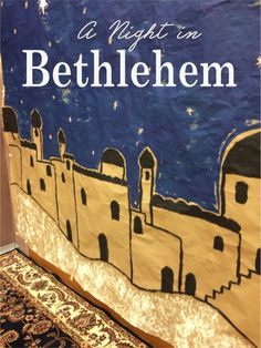 CHOCOLATES FOR BREAKFAST and other Sweet Somethings: A Night in Bethlehem