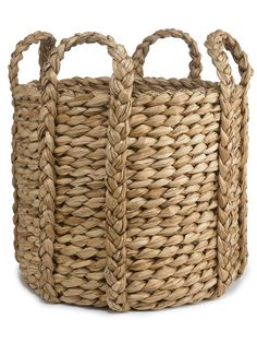 Perfect for throw blankets in the living room.  Cadman Basket - Decorative Accessories   Home - RalphLauren.com