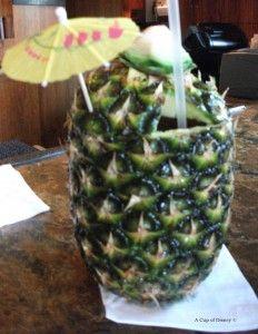 Disney's Lapu Lapu Drink Polynesian Resort
