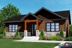 Wonderful Maison Exterieur that you must know, You're in good company if you're looking for Maison Exterieur Exterior House Siding, Bungalow Exterior, Dream House Exterior, Rustic House Plans, Tiny House Plans, Prefabricated Houses, Prefab Homes, Sheltered Housing, Home Exterior Makeover
