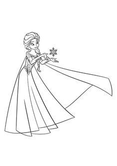 ausmalbilder eiskönigin elsa e1551072415159   disney prinzessin malvorlagen, ausmalbild
