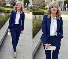 Get this look: http://lb.nu/look/7315198  More looks by Valentina  Ioana: http://lb.nu/vpenescu  Items in this look:  Poema Suit, Van Laack Shirt, Poema Clutch, New Look Shoes   #dapper #elegant #formal