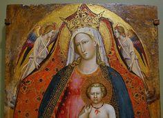 Giovanni dal Ponte - Madonna col Bambino e angeli - 1410 ca. - Blanton Museum of Art , Austin, TX, Stati Uniti d'America .