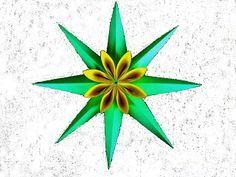 INTERFERENTE: Oristar:Cum sa realizezi un minunat star decorativ de primavara !