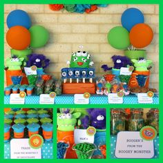 monster birthday party | Well done on this great party Mel, it looked great and the kids had a ...