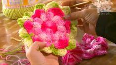 DIY - Professora Simone (Flores em Crochê)