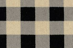 Make a statement with French check carpeting from @Karastan Carpet.