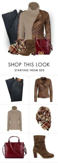 """""""Untitled #2206"""" by sherri-leger ❤ liked on Polyvore featuring VILA, Autumn Cashmere, Evelyn K, Vince Camuto and Lucky Brand"""