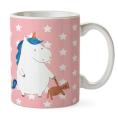 db865753b86e0c Tasse Einhorn Teddy aus Keramik Weiß - Das Original von Mr.   Mrs. Panda