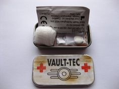 Fallout Vault Tec First Aid Kit Health Pack by Dawnstarjewellery, £4.99