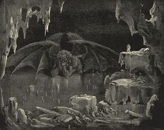 Gustave Dore: Lucifer, King of Hell