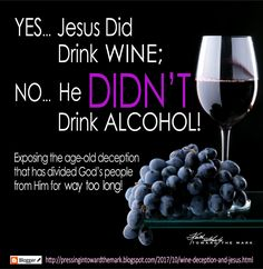 PRESSIN' IN  with Toward The Mark Team: *Wine, Deception, and Jesus -- Truth Exposed!* http://pressingintowardthemark.blogspot.com/2017/10/wine-deception-and-jesus.html   #DontBeTooQuickToCompromise