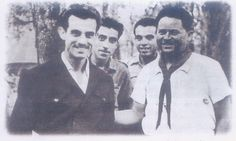 LE GRAND LEADER MARTYR DE LA TUNISIE FARHAT HACHED PARTICIPE EN 1950 A LA FORMATION DES ROUTIERS TUNISIENS AVANT SON ODIEUX ASSASSINAT