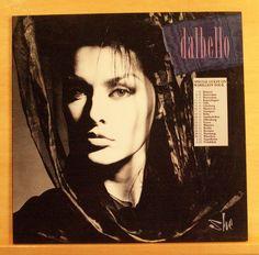 LISA DALBELLO She Vinyl LP Black on Black Baby Doll Tango Body and Soul Top RARE