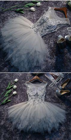 homecoming dresses,short prom dresses,grey prom dresses,prom dresses for teens