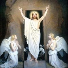 HE has risen!  God bless all of my family & friends this most beautiful Easter Sunday.