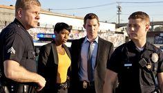 Michael Cudlitz, Regina King, Shawn Hatosy and Ben McKenzie in 'Southland.'