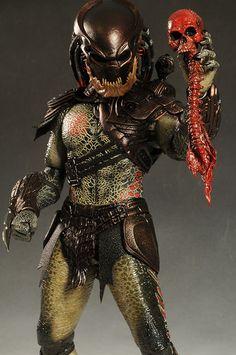 Berserker Predator 1/6th action figure by Hot Toys
