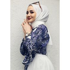 hijab dress Image may contain: 1 person, closeup Fashionista Trends, Hijab Fashionista, Modest Fashion Hijab, Modern Hijab Fashion, Muslim Fashion, New Fashion Clothes, Summer Fashion Outfits, Casual Summer Dresses, Dress Summer