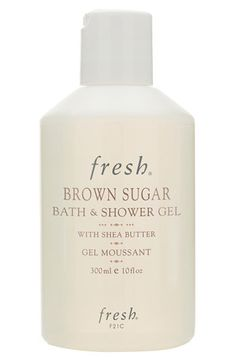 brown sugar bath & shower gel / fresh