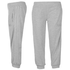 Lonsdale 2 Stripe Three Quarter Sweatpants Ladies - SportsDirect.com