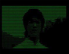 Vuk Ćosić, image extraite de ASCII History of Moving Images, 1998.